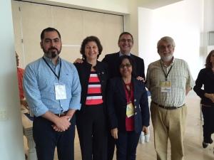 Aquí me encuentro con buenos amigos, como Evelyn Jacyr, quien en la OEA creó la Red de Alertas Rápida, Josep Tous, experto internacional, y las autoridades de República Dominicana.