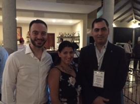Con el Jefe del Programa COMPAL-UNCTAD, Arnau Izaguirre, y la Directora General de Apoyo al Consumidor de Costa Rica, Cynthia Zapata.