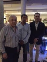 Con el Subrpocurador de Telecomunicaciones de la Profeco, Mtro. Carlos Ponce, y el Jefe de Políticas de Competencia y Protección al Consumidor de la UNCTAD, Juan Luis Crucelegui.